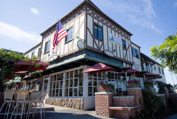 The outside of Americana restaurant.