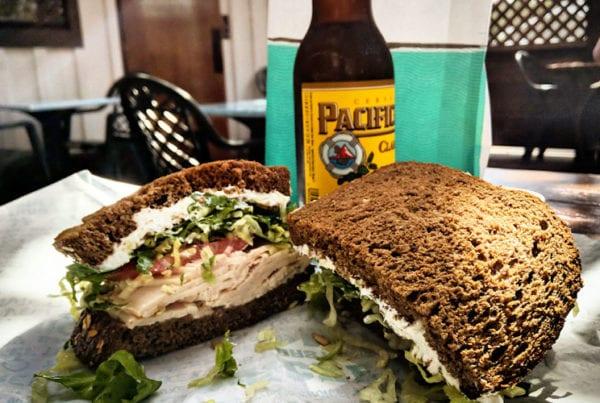 A big sandwich.