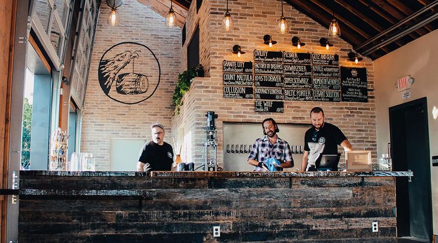 Eppig Brewing Waterfront Biergarten