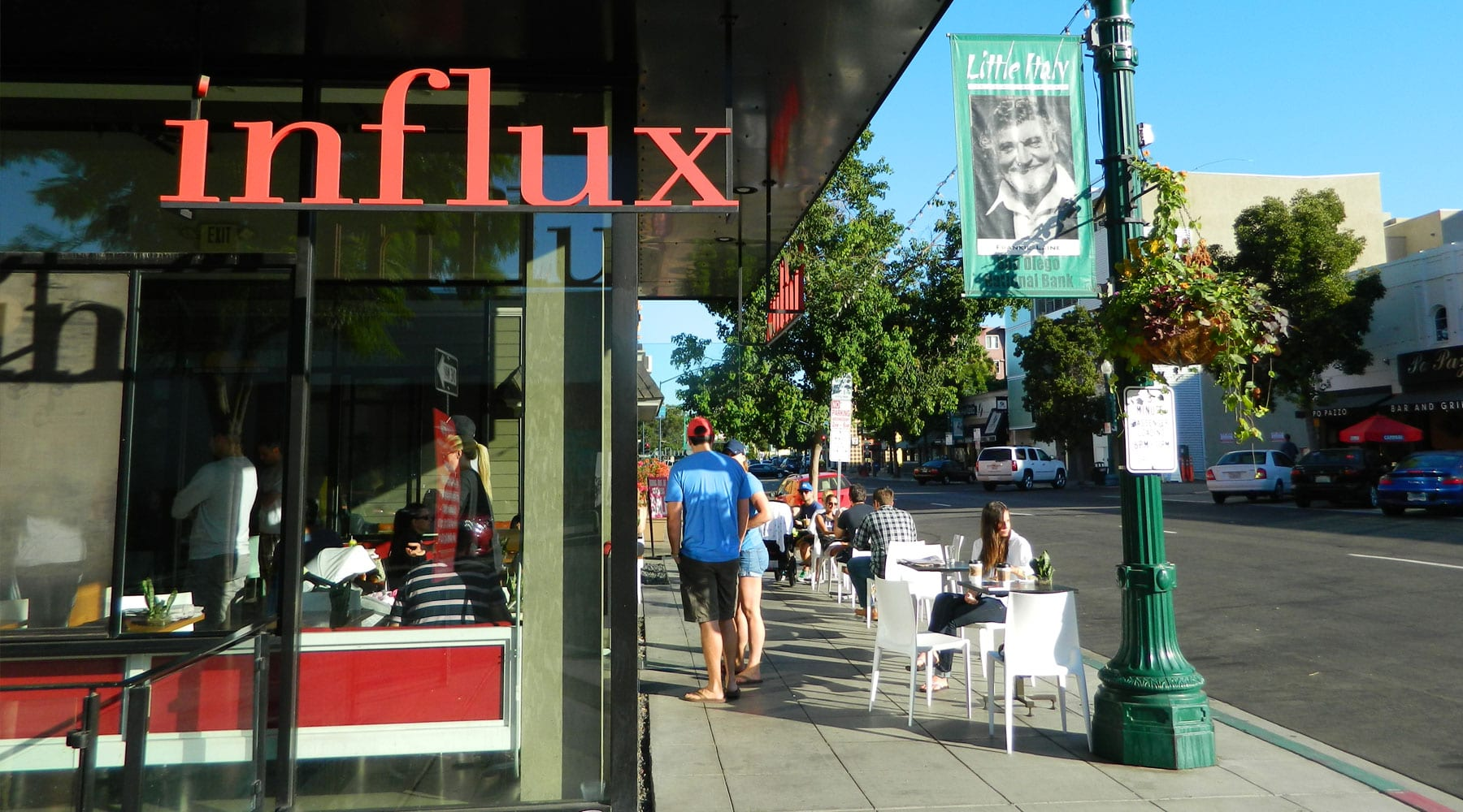 Influx Cafe Little Italy