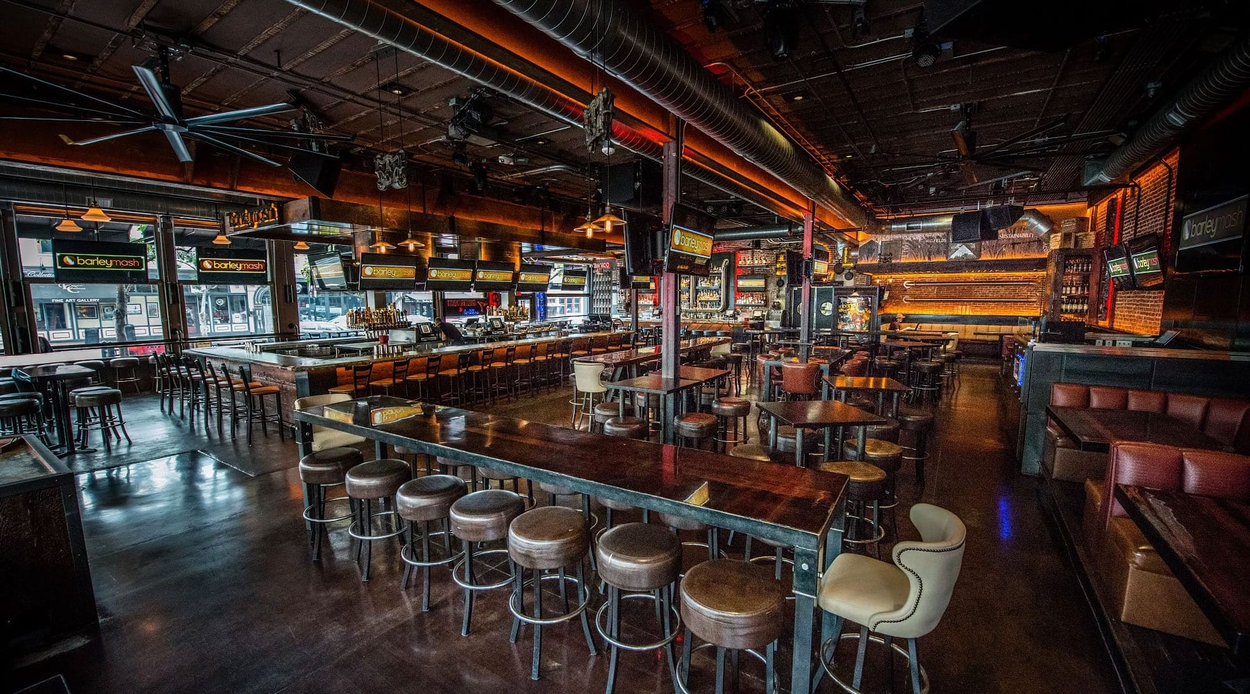 Five Downtown Bars With Tons of TVs, Because Sports