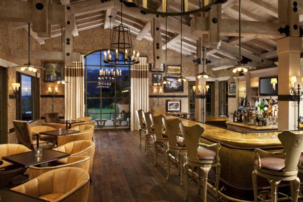 Rancho Valencia  bar.