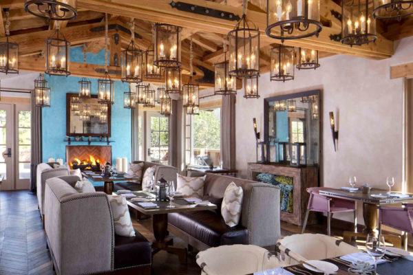 Rancho Valencia dining room.